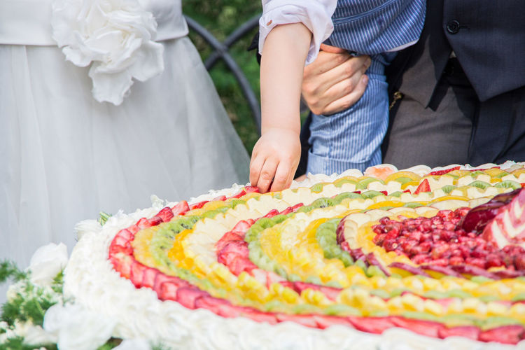 Wedding food Couple Family Italian Wedding Love Sugar Wedding Bridegroom Cake Cake Time Child Confetti Decoration Father & Son Fruit Fruits Italian Food Life Events Real People Restaurant Sweet Sweet Food Togetherness Wedding Cake Wedding Party