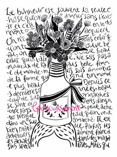 꽃핌. 개화. 성숙 epanouissement Illust Illustration Art #illustration #drawing #draw #tagsforlikes #picture #photography #artist #sketch #sketchbook #paper #pen #pencil #artsy #in Art