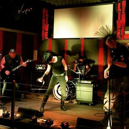 Liveinconcert Redhatsportsbar TheRedHat Redhatconcord livemusicrocks livemetal symphonicmetal gothicmetal seeuslive headbang metalconcert instametal rockshow playguitar playingdrums supportlocalmusic