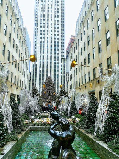 merry chrismats. City Ciudad Urbana Dia NYC NYC Photography NYC Street Chistmas Navidad USA USA Photos Pattern Full Frame Close-up Sky Architecture Urban Scene