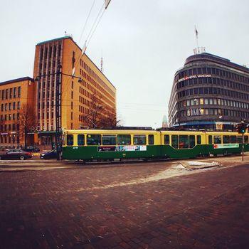 City Finland Helsinki Bus Travel