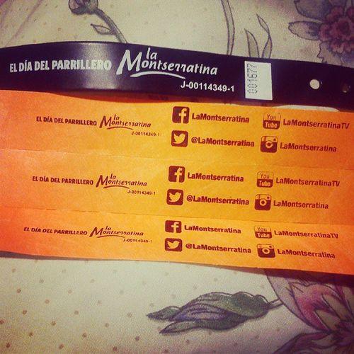 Entradas Ready LaMontserratina MaestroParrillero