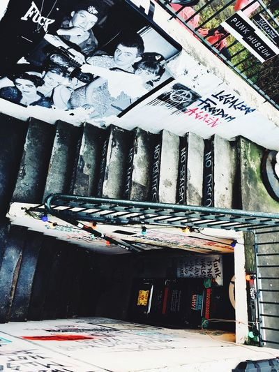 Punk Museum Iceland Reykjavik Sexpistols Bjork Nohero's Architecture Graffiti City