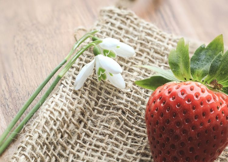 strawberry and