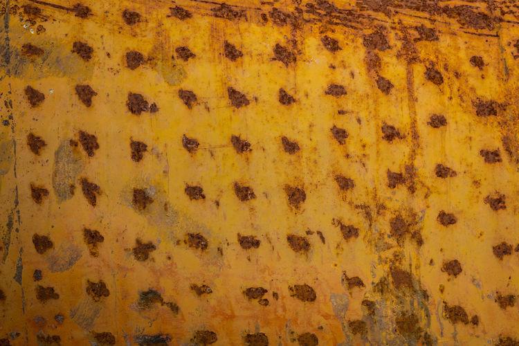 Full frame shot of orange surface