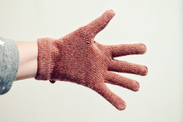 EyeEm Selects Human Hand Human Body Part One Person Glove Pink Pink Color Studio Shot Close-up One Woman Only Young Adult Adults Only White Background Point Of View Simplicity Minimal Minimalobsession Getting Creative The Week On EyeEm Five Fingers