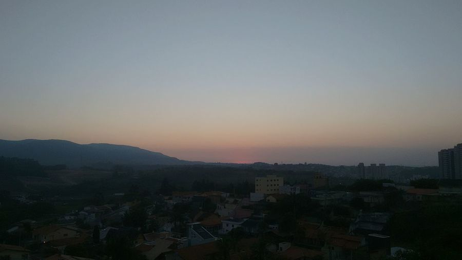 Foto tirada em Jundiaí - SP City Urban Skyline Night Sunset Sky No People First Eyeem Photo