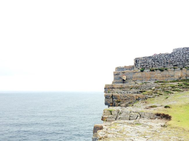 At The Edge Of The World Seascape Cliffs