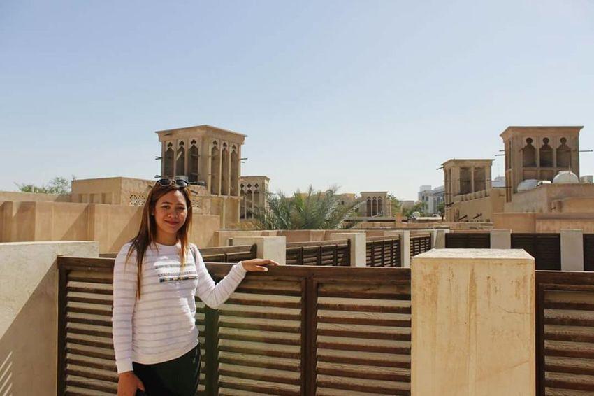 Topview Holding Working HeritageVillage Tourists And Locals Old Dubai Localhouse Livingindubai Life Myself Independent Woman Travelindustry