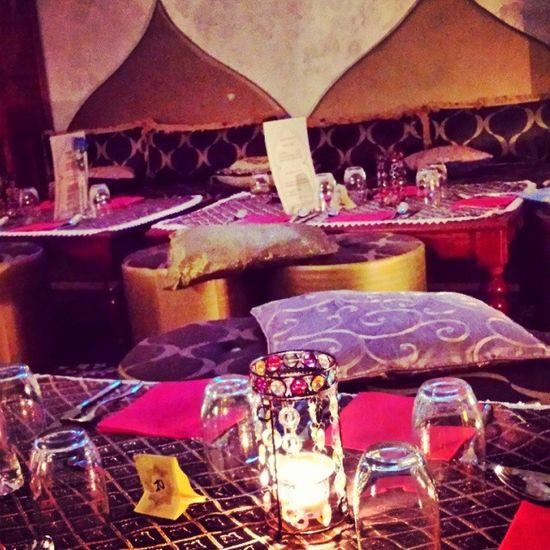 Arabian Food Malika Ristorante candle colour softLight caserta italy