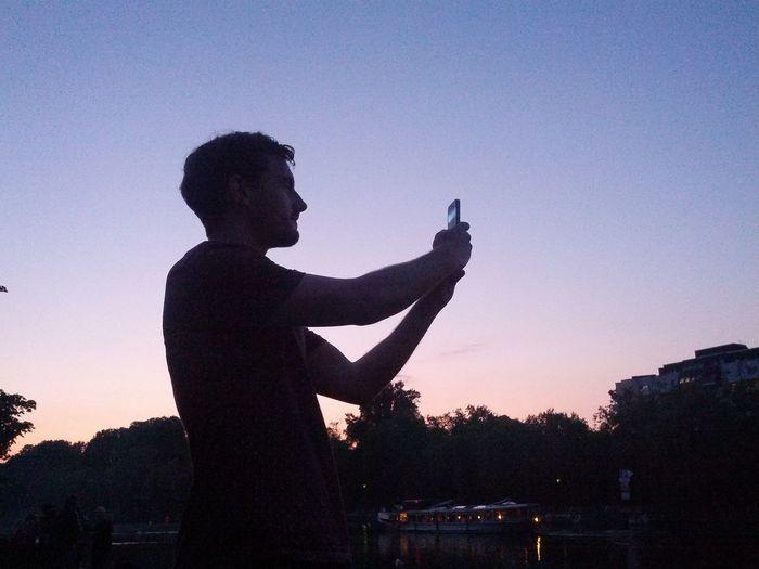 silhouette of Adam's Sexy Face