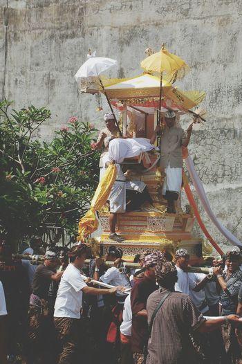 Asian Culture Ngaben Balinese
