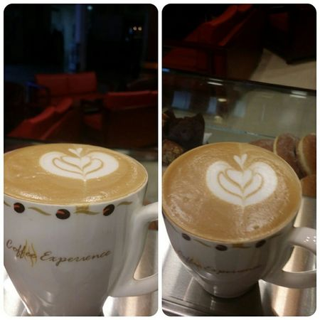 My Hobby making latte art