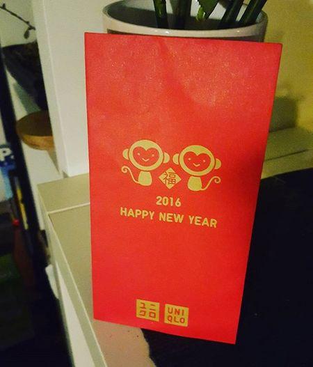 My first ever Laisee for Chinesenewyear from the beautiful @kitty1212 !! Cny Yearofthemonkey HongKong Redpacket Luckyunmarriedgirl