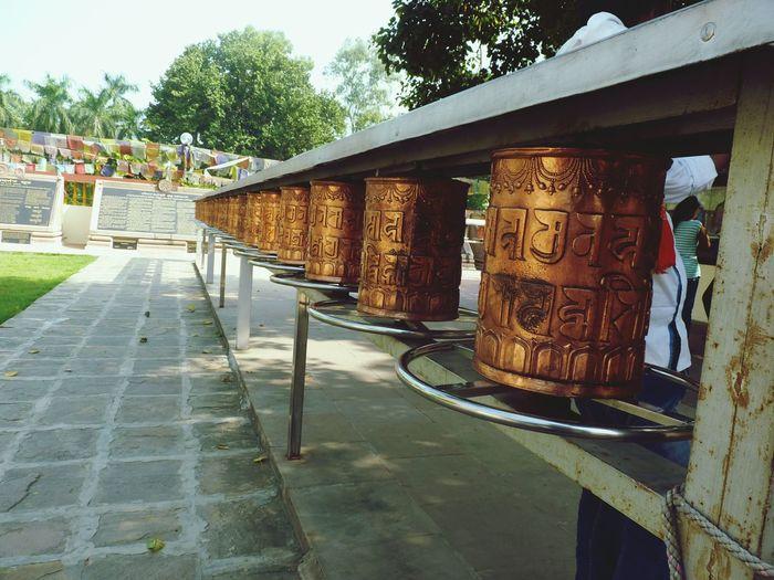 Lord Buddha Art Built Structure Graffiti History