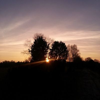 Sonnenuntergang am Süllkreuz