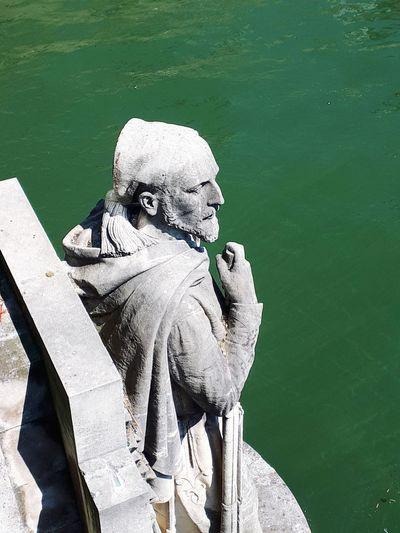Zouave De Paris Pont De L Alma EyeEm Selects Water Close-up
