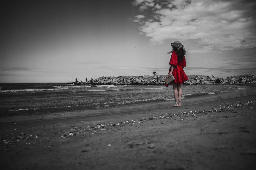 Full Length Sea Water Beach Young Women Sand Back Women Human Back Healthy Lifestyle Wave Crashing Surfboard Surfing Wetsuit Shore Surfer Low Tide Rushing Surf Countryside Ankle Deep In Water Salt Basin Tide Sand Dune Windsurfing Kiteboarding Groyne Water Sport