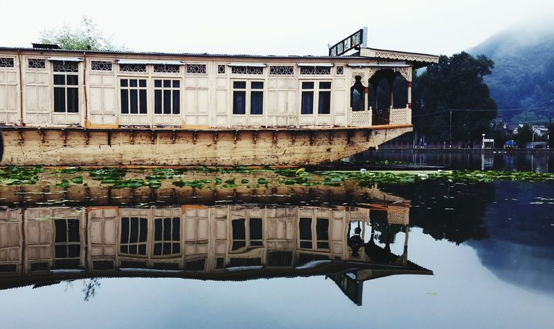 Vacation Water Reflections Boathouses Kashmir Dal Lake Eye4photography  EyeEm Best Shots Getting Creative