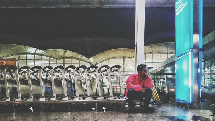 Trolley boy Airport KualaNamuAirport Trolley