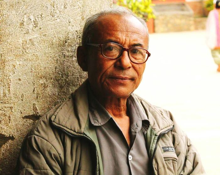 Senior Adult Portrait One Senior Man Only Looking At Camera Eyeglasses  Gray Hair One Person One Man Only Headshot Senior Men Only Men Close-up Day Outdoors Adult Nepal Gurkha