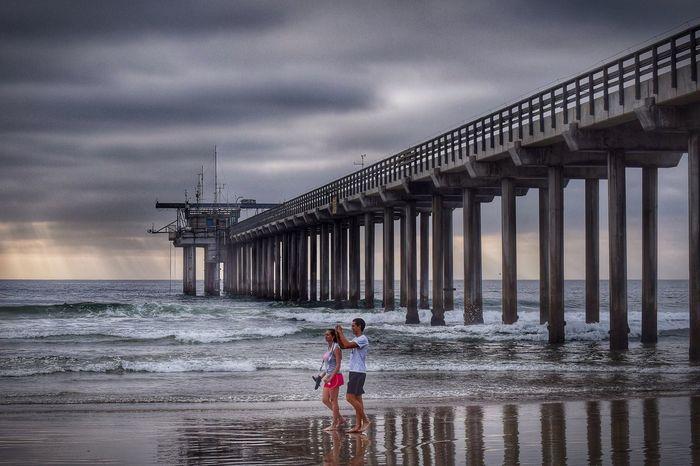 A stroll on the beach... Life Is A Beach Eye4photography  California Dreaming California Coast La Jolla Beach Photography California Sunset Sunset Ocean Beach Waves, Ocean, Nature Beach Life Ocean Dream Sunset_collection