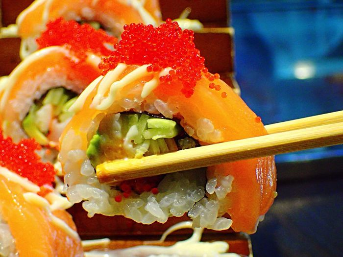 Showcase March Sushi Japanese Food Foodphotography Foodlovers Food Gallery Meal Birthday Gift Happiness EyeEm Gallery