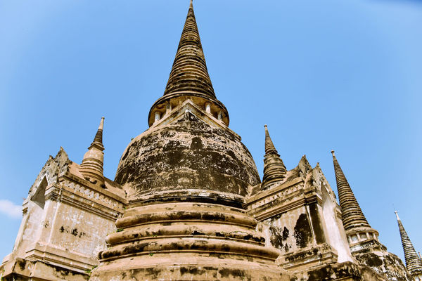 The biggest Achitecture Amazing Ancient Architecture Beautiful Biggest Blue Sky Building Built Structure Colorful Day Gold Gold Colored High Historical History Light And Shadow Looking No People Old Buildings Outdoors Religion Thailand Travel View