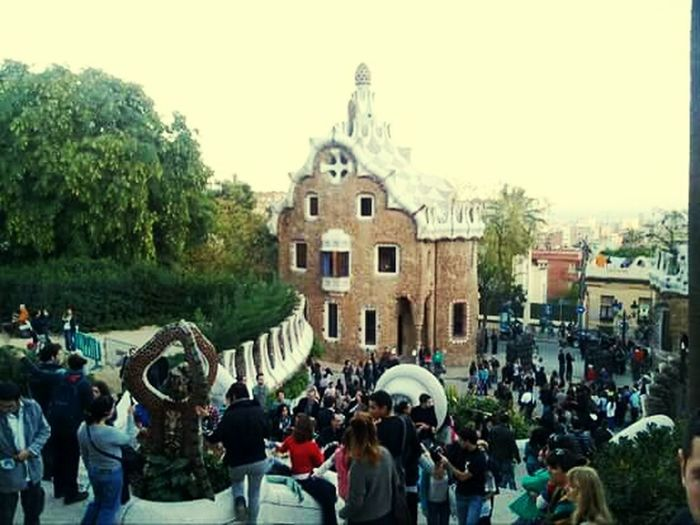 Barcelona SPAIN Art Gaudi Parc Guell Peoplephotography Peoples People Watching Ilovebarcelona