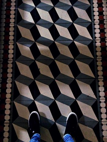 Real People Tiled Floor Indoors  One Person Legs Church Simetry Colors Shoes Beautiful Streetphotography Street