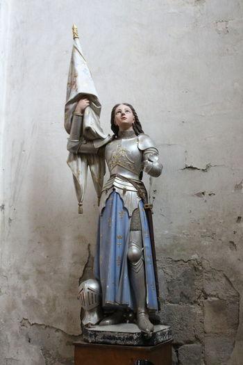 Sainte Jeanne D'Arc History Religion Spirituality Statue
