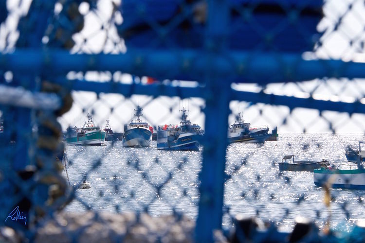 Boats And Water Casiers Close-up Day Fishing Boat Focus On Foreground Le Conquet No People Outdoors Selective Focus Sky