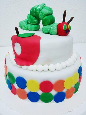 Sweet Food Multi Colored Cake♥ Raupenimmersatt Cute♡ Selfbaked Happykids