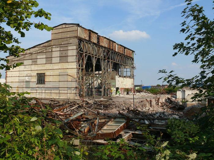Wilhelmshaven Germany Deutschland Südstrand Südzentrale Abbruch Summer Ende Baustelle Building Abandoned Buildings