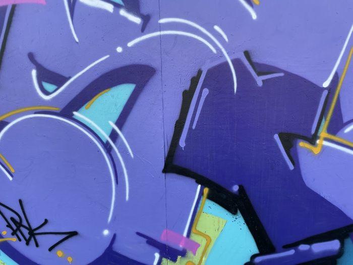 Full frame shot of clock on blue background