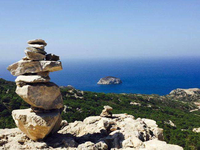 Horizon Over Water Atavyros Rhodes Greece