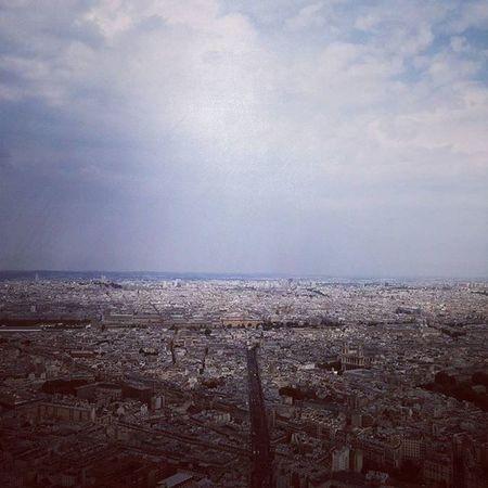 Paris above Paris Cityscape TourMontparnasse Cieldeparis