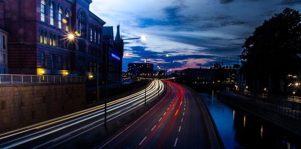 Stockholm by night Night Lights Stockholm Night Streetphotography