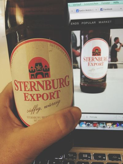 My First Beer At Eyeem during My First Week At EyeEm