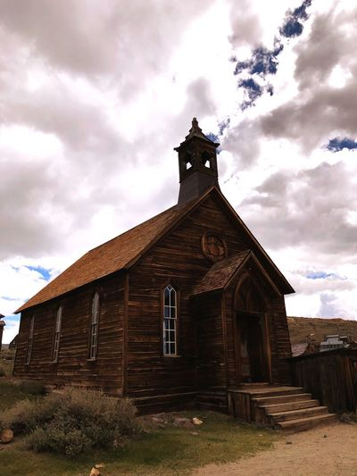 Ghost Town Bodie Ghost Town Cloud - Sky Built Structure Architecture Sky Building Exterior Building Religion Spirituality Old History