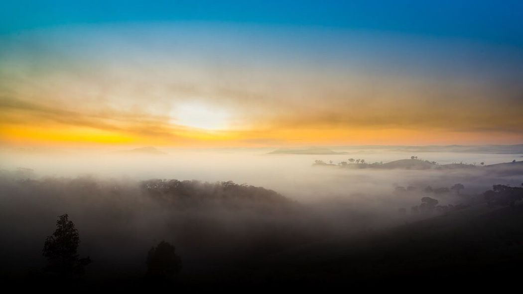 The Great Outdoors - 2016 EyeEm Awards Murchison Gap, Victoria, Australia. Landscape #Nature #photography Dawn Sunrise Morning Lost In The Landscape