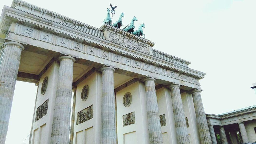 History Berlin Brandenburgertor