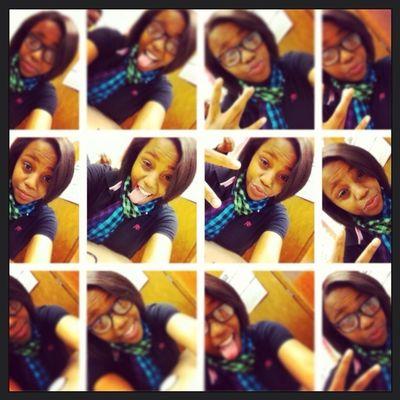 Me at school in Paul glasses!!