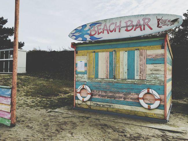 Came across this little beach bar today. Beach Bar Beachbar Sand Landscape Lake Surfing Surfboard Wood