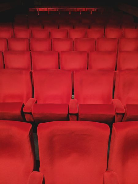 Empty seats Cinema Theatre Theater MOVIE Seat Seats Chairs Seating Available Light Cinema Cinema In Your Life Cinematic Red Dark Photography Audience Watching Watching Empty Places Empty Empty Space Waiting Film Industry Entertainment Luxury Escapism Hobbies Film Industry No People Indoors  MOVIE