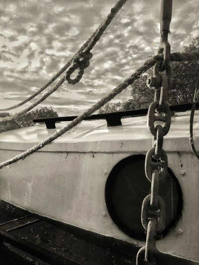 Anchoring Boat