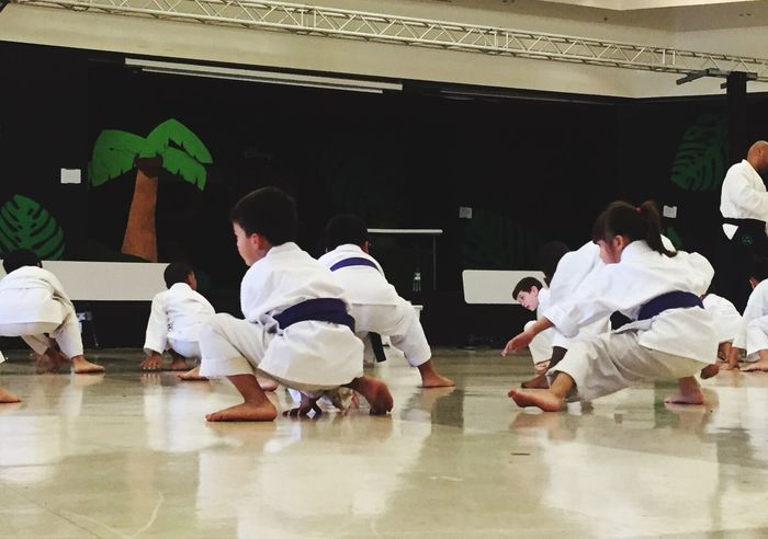 Purple Testing for Green Karate belt. Karate Kid Karategirl Karate Class Hawaii Hawaii Life