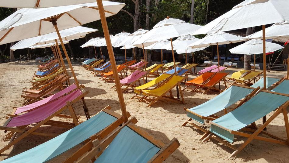 Sand Beach Outdoors Sun Sunchair Paradise Beach Thailand