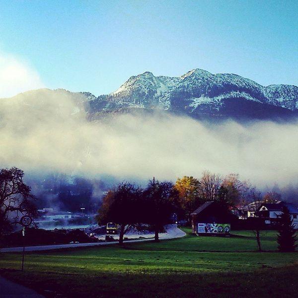 Badischl Austria Österreich Berge Snow Mountains Schnee