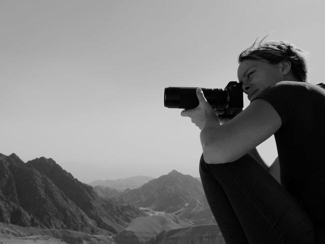 I shoot some ;) Israel, Negev desert 🐫 Israel Lovemyjob Sonya7riii Lumixgh5 Real People One Person Photography Themes Photographing Holding Camera - Photographic Equipment Leisure Activity Digital Camera Outdoors Casual Clothing Young Adult Side View Day Photographer Mountain Clear Sky